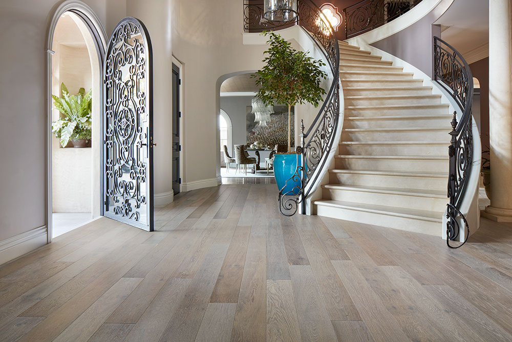 French Oaks Hardwood Floors Beach Hardwood Flooring