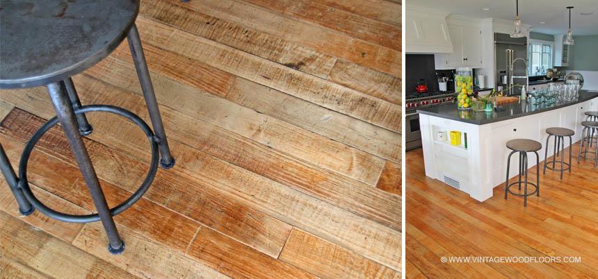 Vintage Wood Floors Beach Hardwood Flooring