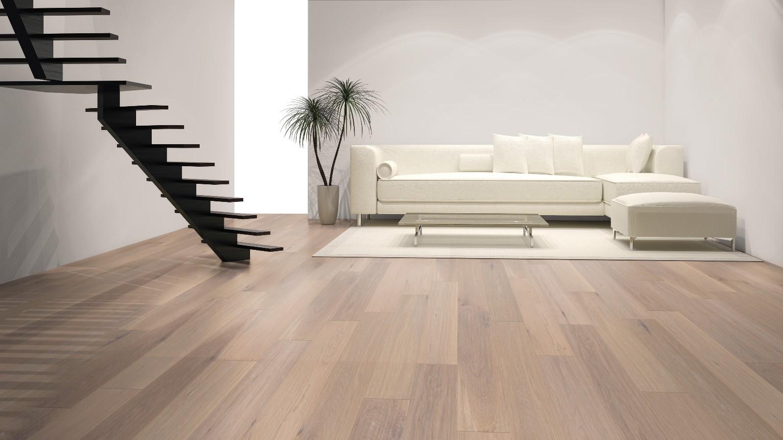 French Oak Wood Flooring Living Room