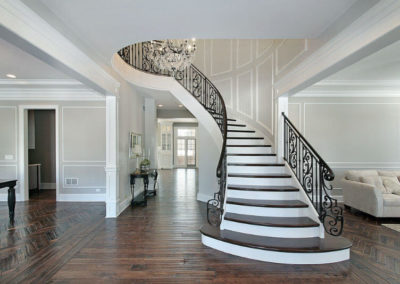Hardwood Staircases installation